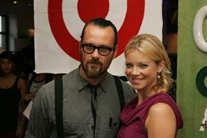Amy Smart Rogan for Target clothing line debut in Beverly Hills