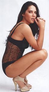 Olivia Munn in lingerie