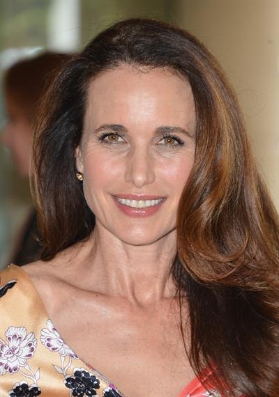 Andie MacDowell - Premiere of Warner Pictures 'The Champaign' 2-8-2012