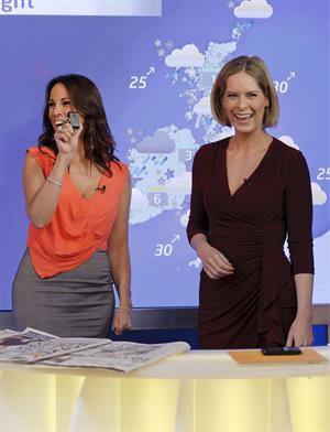 Andrea McLean on Daybreak - November 29, 2011
