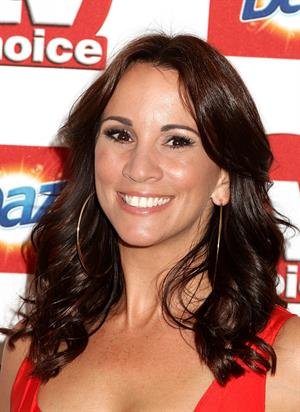 Andrea McLean TV Choice Awards 2011 on September 13, 2011