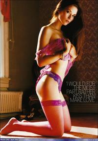 Chyler Leigh in lingerie