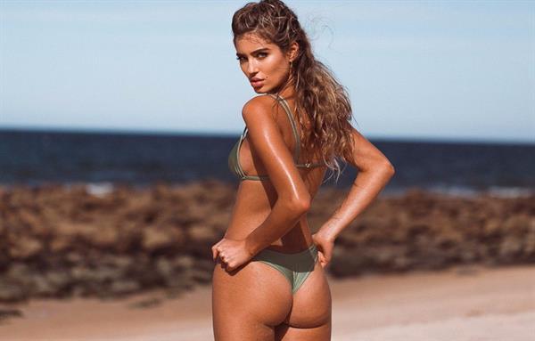 Belle Lucia in a bikini - ass