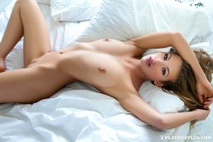 Playboy Cybergirl Katia Martin Nude in her bedroom