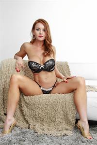 Janet Mason in lingerie