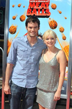 Anna Faris Cloudy With a Chance of Meatballs premiere in Los Angeles
