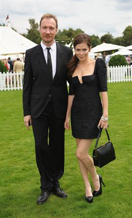 Anna Friel the Cartier Polo Tournament in Windsor England