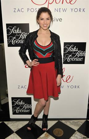 Anna Kendrick launch of Z Spoke by Zac Posen hosted by Saks Fifth Avenue at Mr. Chow on February 27, 2010