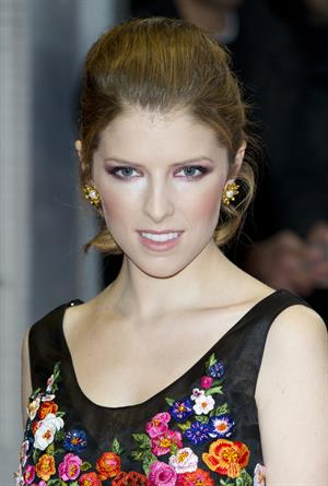 Anna Kendrick 'Drinking Buddies' screening, London, October 18, 2013