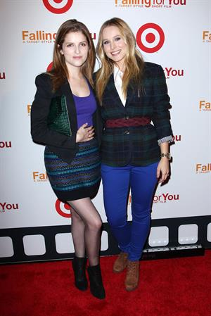 Anna Kendrick - 'Falling For You' NYC premiere 10/10/12