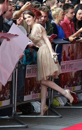 Anna Kendrick What to Expect When You're Expecting UK film premiere on May 22, 2012