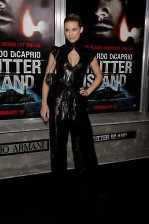 AnnaLynne McCord premiere of Shutter Island in New York on February 17, 2010