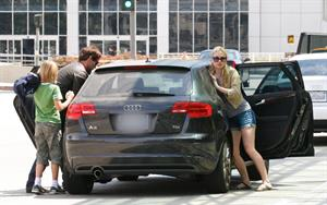 Anna Paquin at LAX airport on July 31, 2011