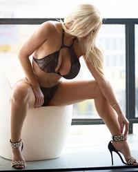 Nicolette Shea in lingerie