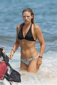 Anna Torv in the water in Hawaii on June 21, 2012