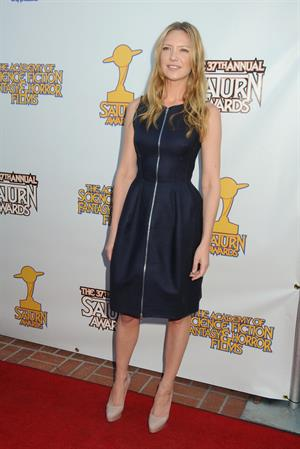 Anna Torv 37th annual Saturn Awards at the Castaway in Burbank on June 23, 2011
