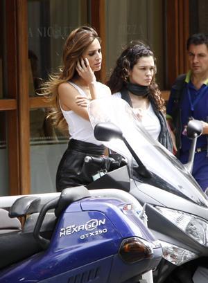 Ariadne Artiles Gran Canaria Moda Calida 2010 on June 8, 2010