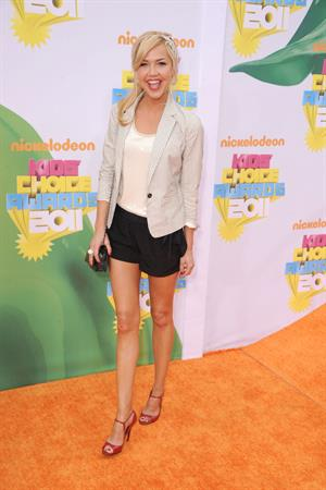 Arielle Kebbel Nickelodeon's 24th annual Kids Choice Awards at Galen Center on April 2, 2011