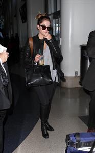 Ashley Benson – LAX airport arrival in LA 11/14/13