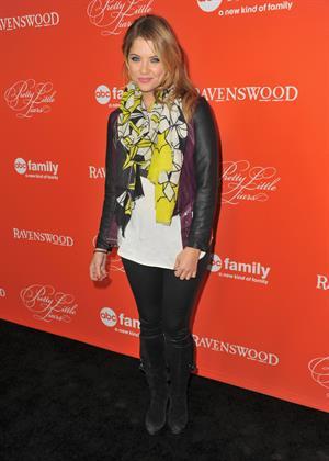 "Ashley Benson ""Pretty Little Liars"" Halloween Episode screening in Hollywood, October 15, 2013"