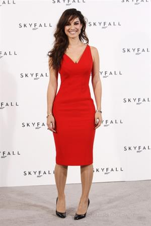 Berenice Marlohe Photocall for  Skyfall  in London (03.11.2011)