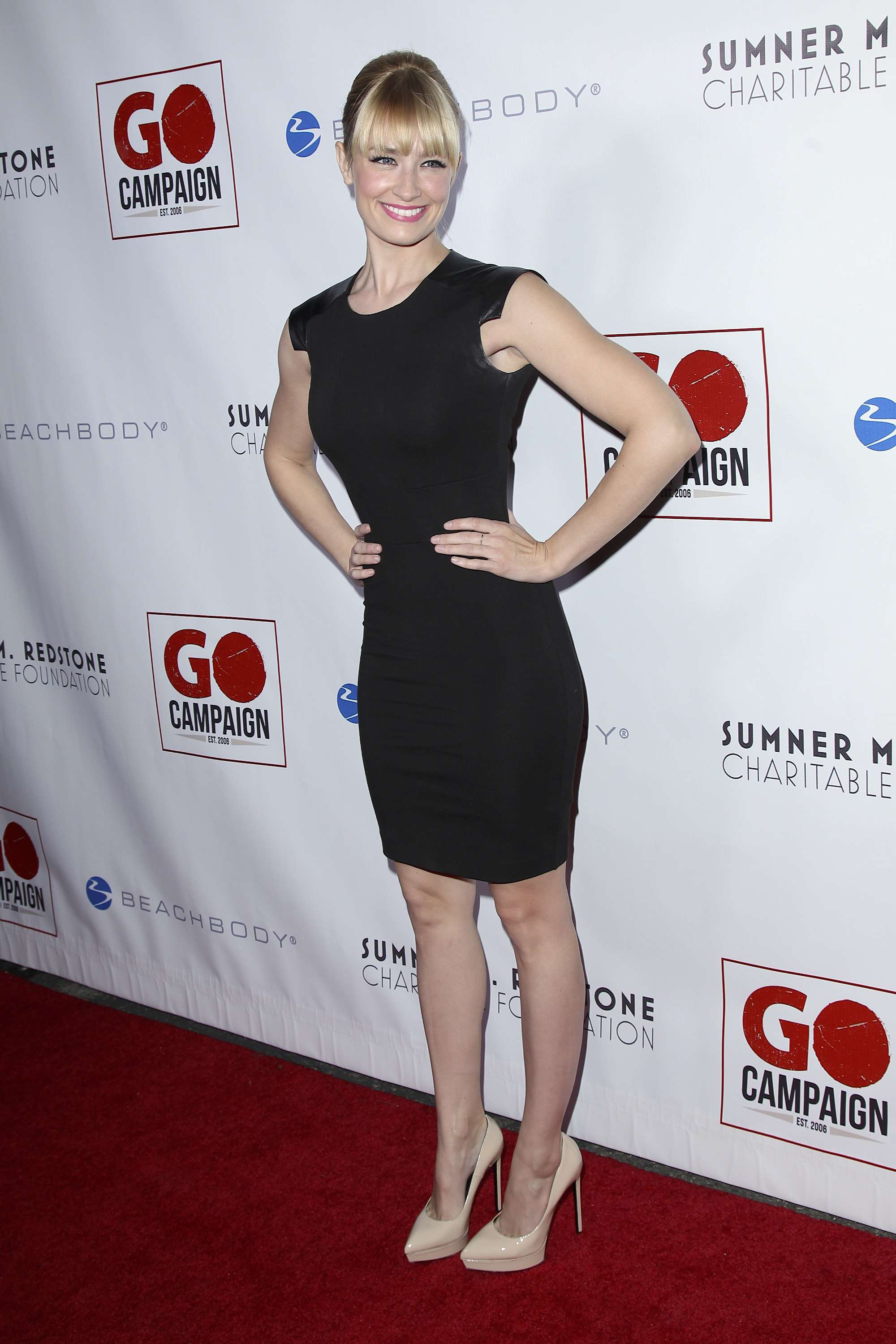 Beth Behrs 6th Annual GO GO Gala (November 14, 2013)