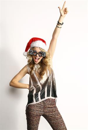 Bridgit Mendler portraits at Z100's Jingle Ball 2012 in NYC 12/7/12