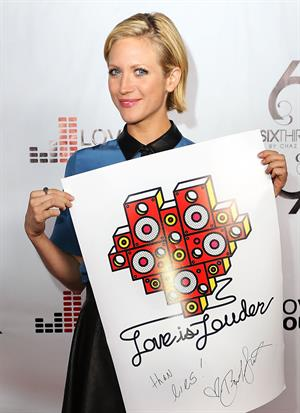 Brittany Snow Chaz Dean's Holiday Party Benefitting the Love is Louder Movement, 02 Dec 2012
