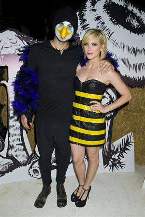 Brittany Snow  Just Jared Halloween Party  10/27/12