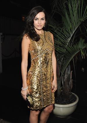 Camilla Belle W Magazine and Dom Perignon's Pre-Golden Globes Party in Los Angeles - January 12, 2013