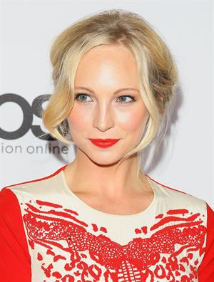 Candice Accola attends The Hollywood Reporter's Emmy Party in West Hollywood, Sep. 19, 2013