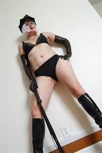 Lady Gia NyC in lingerie