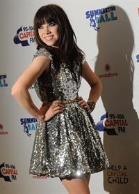 Carly Rae Jepsen - 95-106 Capital FM Summertime Ball 2012 in London (June 9, 2012)