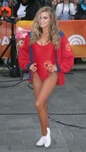 Carmen Electra NBC's Today Show Halloween appearance in New York City, October 31, 2013