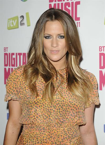 Caroline Flack BT Digital Music Awards 2011 on September 29, 2011