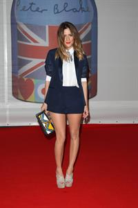 Caroline Flack Brit Awards 2012 in London on February 21, 2012