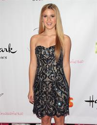 Caroline Sunshine Hallmark Gold Crown and Tet Bands celebrate Bella Thorne's Quinceanera in LA 10/20/12