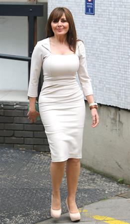 Carol Vorderman - Outside the London Studios in London (27.06.2013)