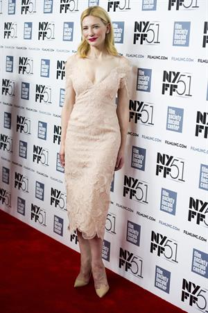 Cate Blanchett Gala Tribute To Cate Blanchett at 51st New York Film Festival on Oct. 2, 2013