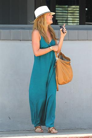 Cat Deeley - Lunch With Friends at The Belmont in LA - August 13, 2012