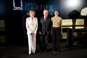 Charlotte Casiraghi Attends 'El Arte de Cartier' Ehibition Opening in Madrid (Oct 22, 2012)