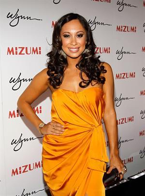 Cheryl Burke - Unmasking Mizumi Restaurant in Las Vegas June 07, 2012
