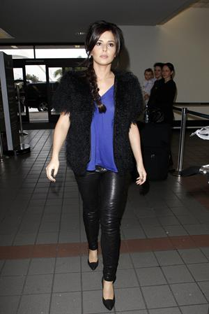 Cheryl Cole at LA Airport in Los Angeles 11/30/12
