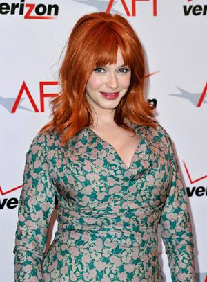 Christina Hendricks 13th Annual AFI Awards in Beverly Hills 1/11/13