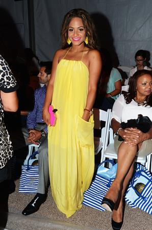 Christina Milian - Mercedes-Benz Fashion Week in Miami 19/07/201