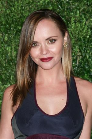 Christina Ricci attending the 9th Annual CFDA/Vogue Fashion Fund Awards (November 13, 2012)