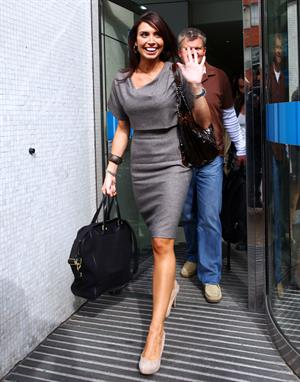 Christine Bleakley Daybreak studios Sept 6, 2010