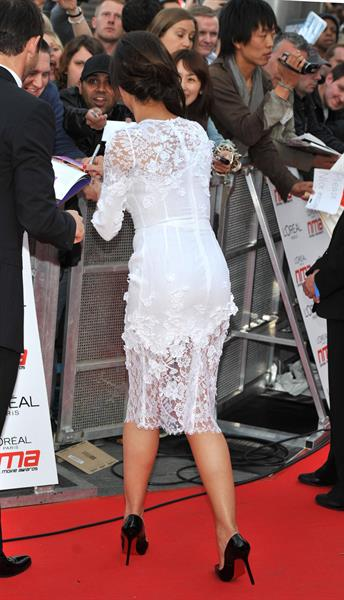 Christine Bleakley National Movie Awards May 11, 2011