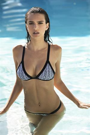 Emily Ratajkowski for Amore & Sorvete Swimwear