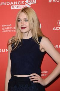 Dakota Fanning Very Good Girls Premiere at the Sundance Film Festival in Utah January 22, 2013